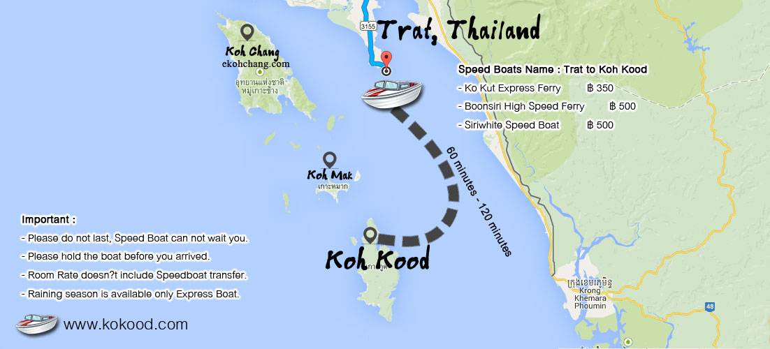 Getting There The 10 Best Resorts around Koh Kood